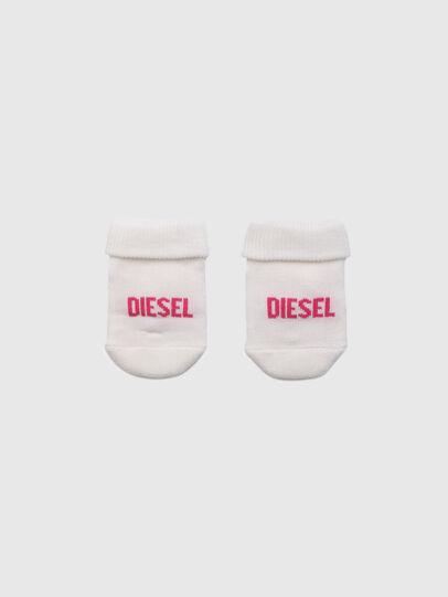 Diesel - ZEBET-NB, Weiss/Rosa - Weitere Accessoires - Image 1