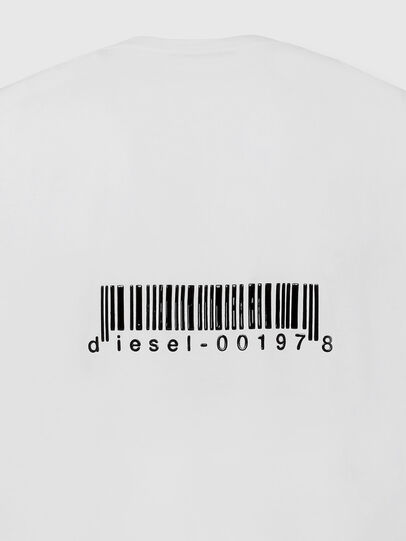 Diesel - T-JUST-LS-X90, Weiß - T-Shirts - Image 4