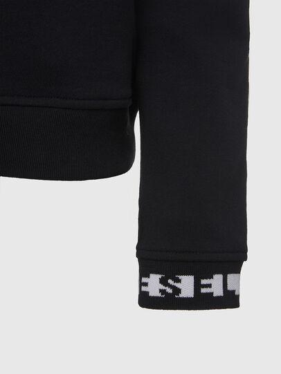 Diesel - UFLT-SWELLY, Schwarz - Sweatshirts - Image 4