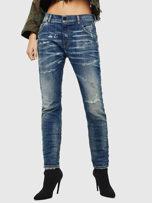 Krailey JoggJeans 0870Q, Mittelblau - Jeans