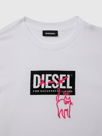 Diesel - TUDARICAT, Weiß - T-Shirts und Tops - Image 3