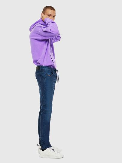 Diesel - Krooley JoggJeans 0098H, Mittelblau - Jeans - Image 4