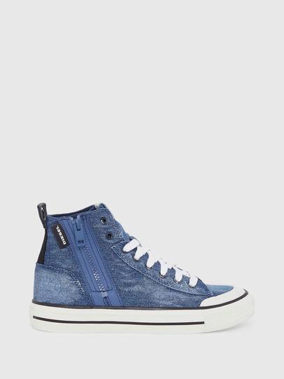 Diesel - S-ASTICO MID ZIP W, Jeansblau - Sneakers - Image 1