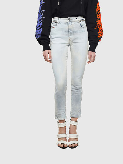 Diesel - Babhila High 009AX, Hellblau - Jeans - Image 1