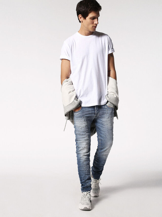 Diesel - T-TERRENCE, Weiß - T-Shirts - Image 4