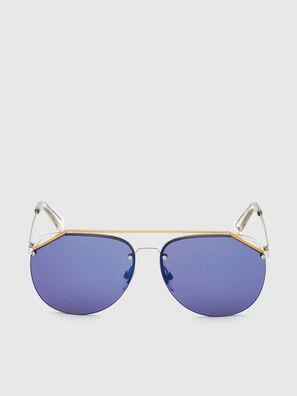 DL0314, Weiß/Blau - Sonnenbrille