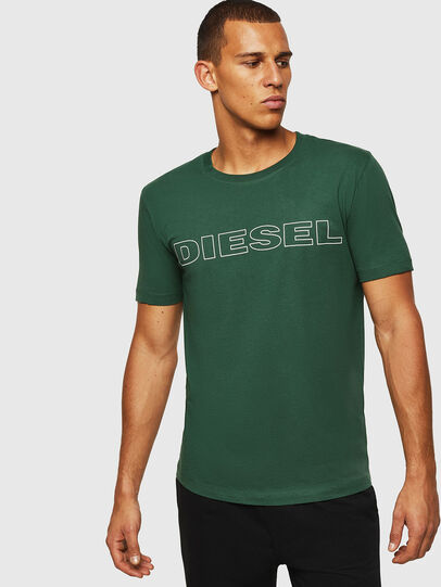 Diesel - UMLT-JAKE, Dunkelgrün - T-Shirts - Image 1