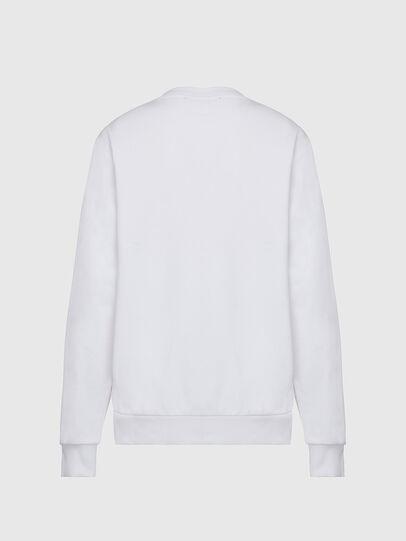 Diesel - F-ANG-CUTY, Weiß - Sweatshirts - Image 2