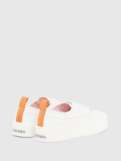 Diesel - S-VANEELA LOW, Weiß/Orange - Sneakers - Image 3