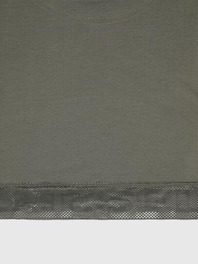 Diesel - UFTEE-GIORGMESH-SV, Armeegrün - T-Shirts - Image 4