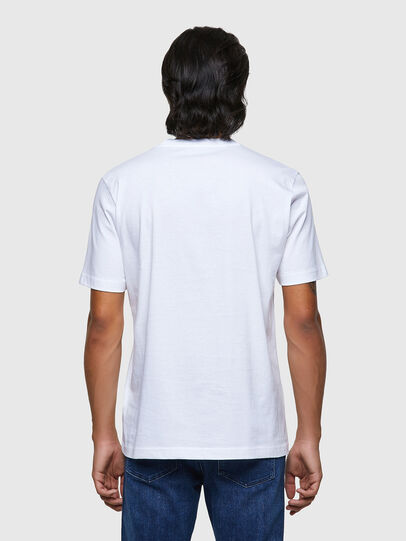 Diesel - T-JUST-B54, Weiß - T-Shirts - Image 2
