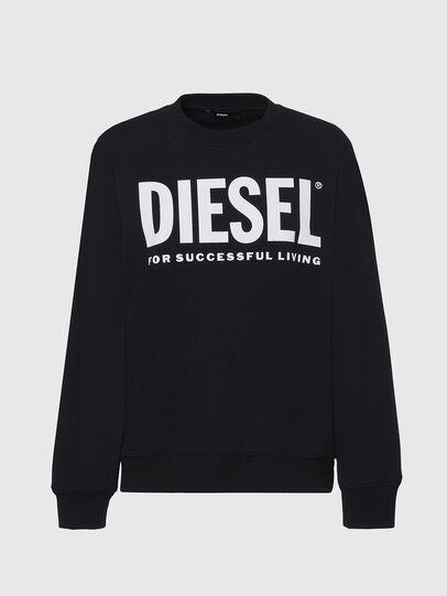 Diesel - F-ANG, Schwarz/Weiss - Sweatshirts - Image 1