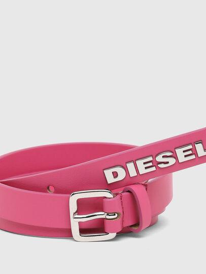 Diesel - B-LOWGO, Rosa - Gürtel - Image 2