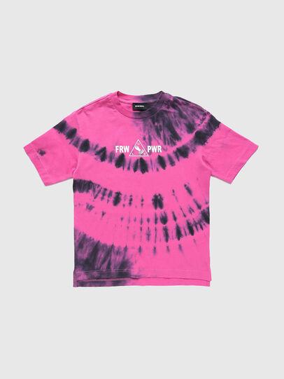Diesel - TJUSTSLITSX86 OVER, Rosa - T-Shirts und Tops - Image 1