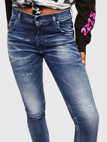 Diesel - Krailey JoggJeans 0096M, Dunkelblau - Jeans - Image 3