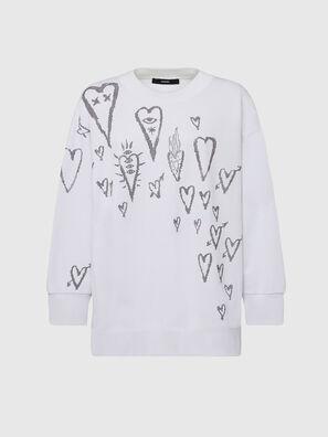 F-AKUA-E60, Weiß - Sweatshirts