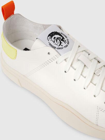 Diesel - S-CLEVER LS W, Weiß/Gelb - Sneakers - Image 4