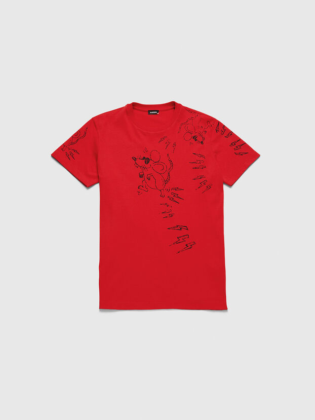 CL-T-DIEGO-3, Rot - T-Shirts