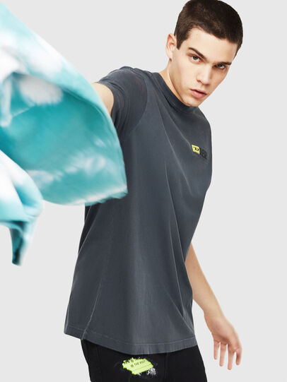 Diesel - DXF-T-JUST,  - T-Shirts - Image 4