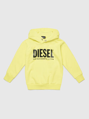 SDIVISION-LOGO OVER, Gelb - Sweatshirts
