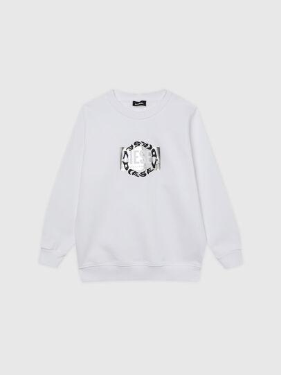 Diesel - SANGRSUC, Weiß - Sweatshirts - Image 1