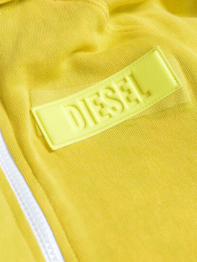 Diesel - SGIMHOODZIP, Gelb - Sweatshirts - Image 3