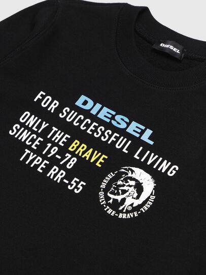 Diesel - SDIEGOXBJ, Schwarz - Sweatshirts - Image 3