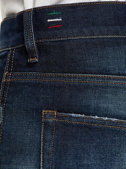Diesel - D-Vider 0092I, Dunkelblau - Jeans - Image 5