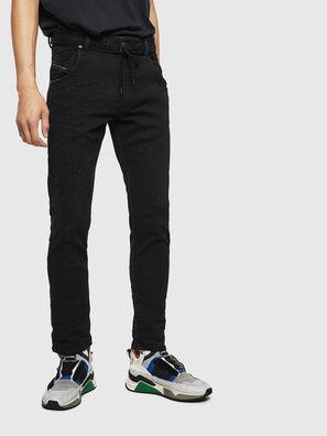 Krooley JoggJeans 0092N, Schwarz/Dunkelgrau - Jeans