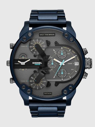 Diesel - DZ7414, Blau/Schwarz - Uhren - Image 1