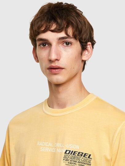 Diesel - T-JUBINDY-B1, Gelb - T-Shirts - Image 3