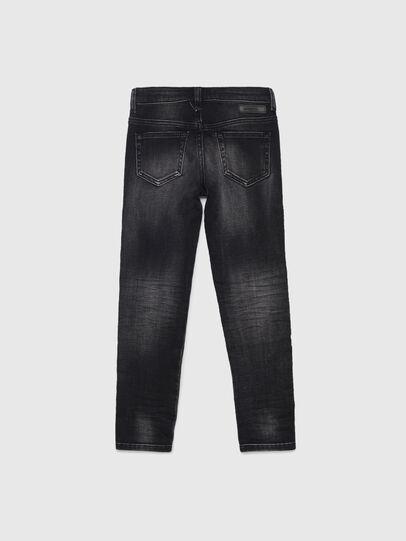Diesel - D-SLANDY-HIGH-J JOGGJEANS, Schwarz/Dunkelgrau - Jeans - Image 2