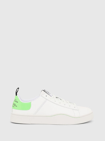 Diesel - S-CLEVER LOW LACE, Weiß/Grün - Sneakers - Image 1