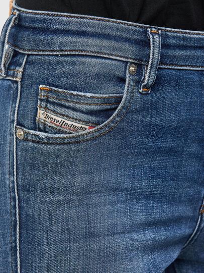 Diesel - Babhila 009JK, Mittelblau - Jeans - Image 4