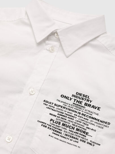 Diesel - CPROAD, Weiß - Hemden - Image 3