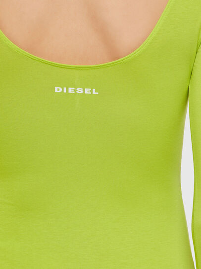 Diesel - UFBY-BODY-LS, Neongelb - Bodys - Image 3