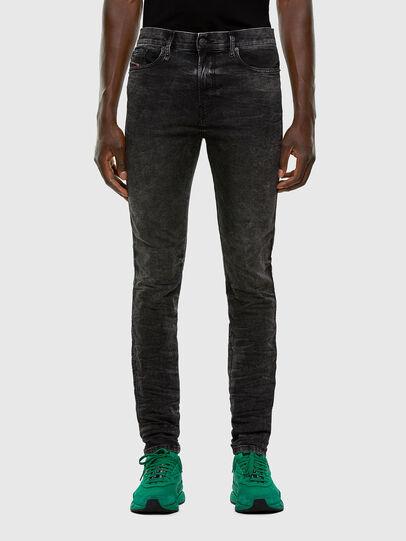 Diesel - D-Reeft JoggJeans 009FZ, Schwarz/Dunkelgrau - Jeans - Image 1