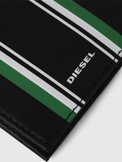 Diesel - NEELA XS, Schwarz/Grün - Kleine Portemonnaies - Image 4