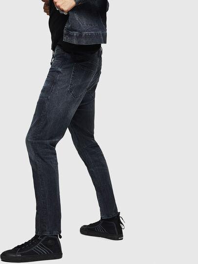 Diesel - D-Vider JoggJeans 0090H, Dunkelblau - Jeans - Image 4