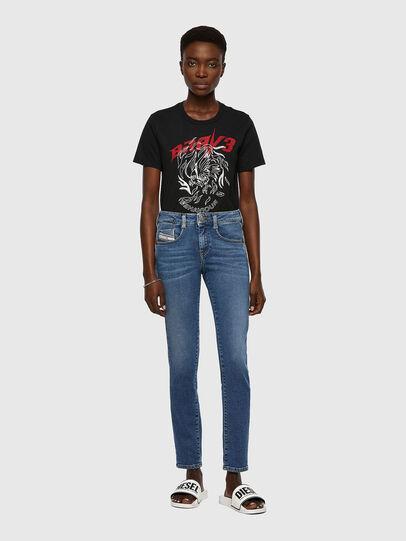 Diesel - D-Ollies JoggJeans® 069XA, Mittelblau - Jeans - Image 5
