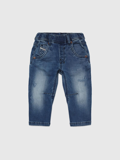 Diesel - FAYZA B JOGGJEANS-N, Mittelblau - Jeans - Image 1