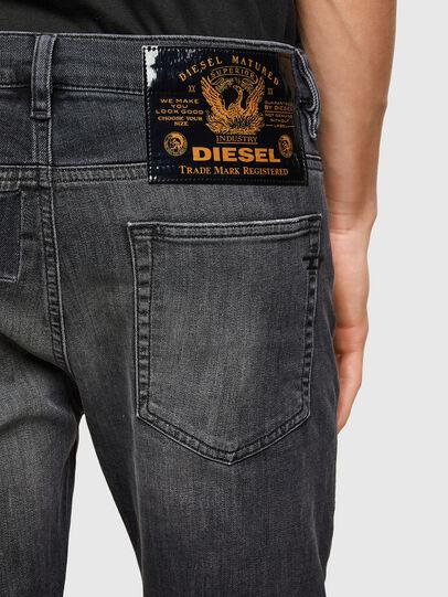 Diesel - D-Reeft JoggJeans® 009SU, Schwarz/Dunkelgrau - Jeans - Image 4