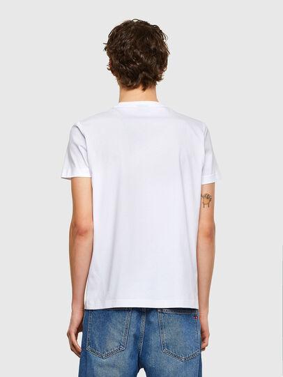 Diesel - T-DIEGOS-E35, Weiß - T-Shirts - Image 2