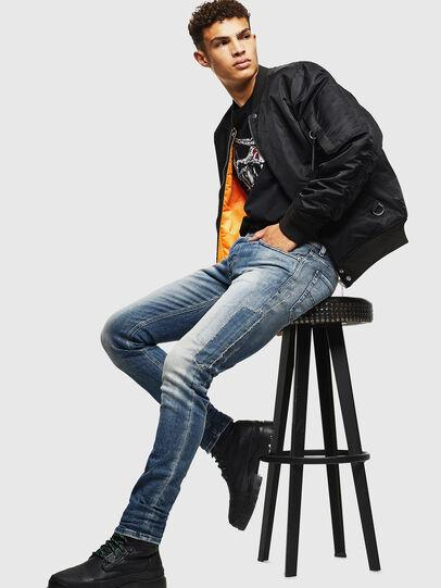 Diesel - Sleenker 0098D, Hellblau - Jeans - Image 5
