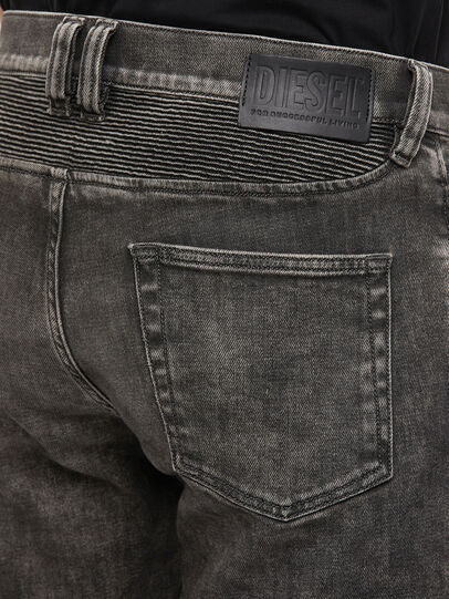 Diesel - D-Dean 009LI, Schwarz/Dunkelgrau - Jeans - Image 4