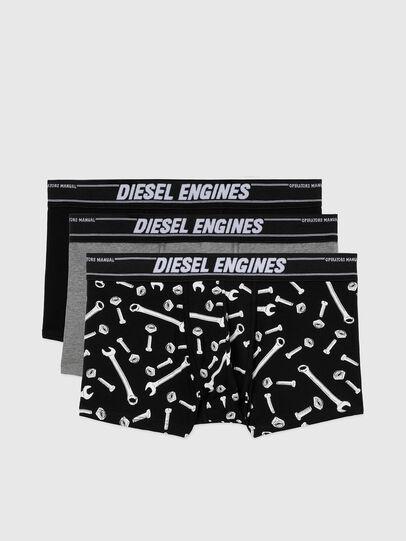 Diesel - UMBX-DAMIENTHREEPACK, Schwarz/Grau - Boxershorts - Image 1
