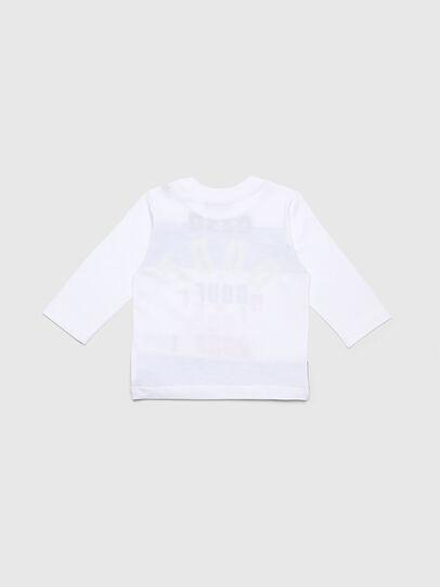 Diesel - TOLIB, Weiß/Blau - T-Shirts und Tops - Image 2