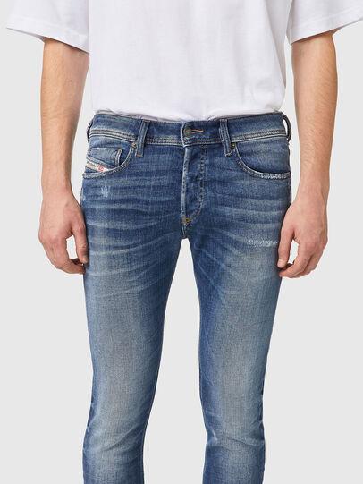 Diesel - Sleenker 09A86, Hellblau - Jeans - Image 3