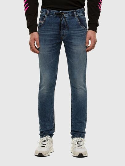 Diesel - KROOLEY JoggJeans® 069NL, Mittelblau - Jeans - Image 1