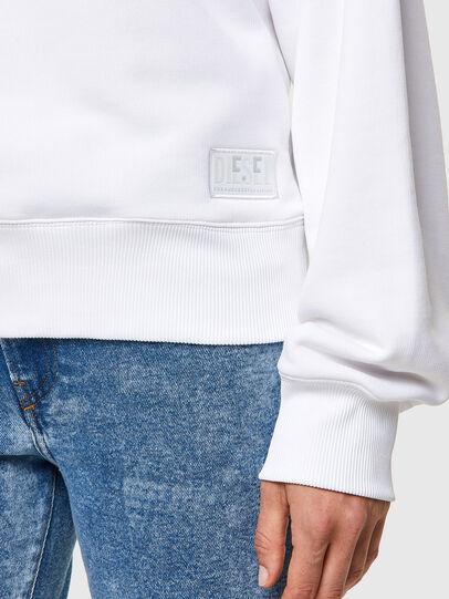 Diesel - F-LYM-C.C, Weiß - Sweatshirts - Image 3